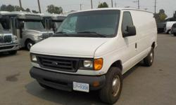 Make Ford Model Econoline Year 2003 Colour White kms 117703 Trans Automatic Stock #: BC0028901 VIN: 1FTSE34L23HB75985 2003 Ford Econoline E-350 Super Duty Cargo Van, 5.4L, 8 cylinder, 4 door, automatic, RWD, 4-Wheel AB, air conditioning, AM/FM radio,