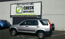Make Honda Model CR-V Year 2003 Colour Silver kms 238682 Trans Manual Price: $5,988 Stock Number: 601-014c Interior Colour: Grey Check out this amazing deal on a 2003 Honda CR-V LX. Make every journey memorable when you step into this Honda CR-V packed