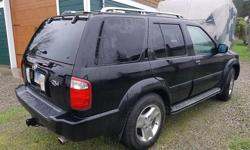 Make Infiniti Model QX4 Year 2003 Colour Black kms 202563 Trans Automatic Fully loaded with all options. Great original vehicle which I have owned for 12 years. All service completed. New car arrives next week. 202,563 km Nissan Pathfinder Toyota 4 Runner