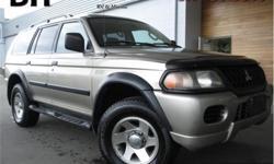 Make Mitsubishi Model Montero Sport Year 2003 Colour Beige kms 218800 Trans Automatic Price: $5,932 Stock Number: QDX1760C VIN: JA4MT21H33J600383 Interior Colour: Grey Engine: 3.0L V6 24V MPFI SOHC Fuel: Regular Unleaded Trailer Hitch, Running Boards,
