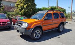 Make Nissan Model Xterra Year 2003 Colour Atomic Orange kms 222100 Trans Automatic The Ultimate 4x4 adventure vehicle in Atomic Orange coloring. Very clean truck with lots of extras including a 3.3L Super Charged V6 engine and a 4 Speed Automatic