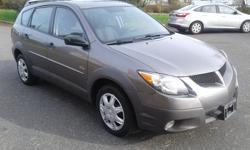 Make Pontiac Model Vibe Year 2003 Colour Brown kms 202000 Trans Automatic 2003 Pontiac Vibe 4dr Wgn AWD This hatchback has 202,000 kms. It has an automatic transmission and is powered by a 180HP 1.8L 4 Cylinder Engine. Great small car good on gas