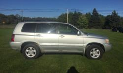 Make Toyota Model Highlander Year 2003 Trans Automatic kms 297500 This highlander is in great shape for the km loaded up all wheel drive with power windows locks air tilt cruise cd keyless entry. Inspected till March 2017 had new brakes on the front and