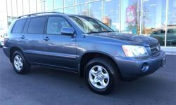 Make Toyota Model Highlander Year 2003 Colour Blue kms 196402 Trans Automatic Price: $11,995 Engine: 3 Cylinders: 6 Fuel: Gasoline We have a team of highly-experienced sales and service staff to serve our customers with the highest level of automotive