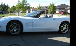 Make Chevrolet Colour white Trans Automatic 2004 Corvette Roadster, LS1, Automatic, Full Load. New Tires and Brakes. White Exterior Black Interior. Price $22,000 Call Ron: 250 337-1825