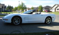 Make Chevrolet Model Corvette Year 2004 Colour white Trans Automatic 2004 Corvette Roadster, LS1, Automatic Transmission, Very well maintained, New Tires, New Brakes. Call Ron @ 250 337 1825 Price is Negotiable