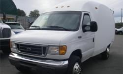 Make Ford Model Econoline Year 2004 Colour White kms 155381 Price: $14,800 Stock Number: BC0027811 Interior Colour: Grey Fuel: Gasoline 2004 Ford Econoline E-350 Super Duty Cube Van, 5.4L, automatic, RWD, air conditioning, AM/FM radio, power door locks,