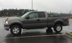 Make Ford Model F-150 Year 2004 Colour Grey kms 151700 Trans Automatic Excellent condition, 5.4L Triton V8 engine, power locks, power windows, A/C, 4x4, new front calipers, front pads and rotors done last year, has never needed anything else. Pains me to