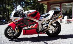 This Honda RC51 runs beautifully and makes a noise that sets off its fair share of car alarms. The bike has been used on the track for Track days by a previous owner and is now set up for road use. I have owned the bike for the last 3 years and have