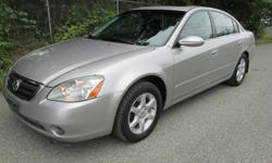 Make Nissan Model Altima Colour SILVER Trans Automatic kms 144000 2004 NISSAN ALTIMA SL 2.5, 4 cylinder auto trans. pw ,air conditioning , cd player, great on gas, has 144,000 k's on it, good brakes good tires, full load heated leather seats cruise