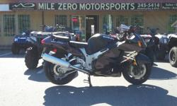 Rare first generation 'Busa. Great condition with only 7700 kms!! Trades Welcome Financing available at http://www.themilezero.com/pages/financing Mile Zero Motorsports 3-13136 Thomas Rd Ladysmith B.C. Everything Starts Here!!!