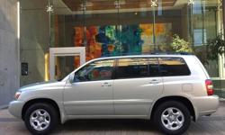 Make Toyota Model Highlander Year 2004 Colour Grey kms 178000 Trans Automatic 2004 Toyota Highlander V6 4WD - 3RD ROW SEATING! NO MONEY DOWN FINANCING FOR AS LOW AS $281 BI-WEEKLY (O.A.C) - Automatic Transmission - 178,000 kms - 3.3L V6 Engine - 4WD -