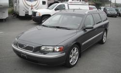 Make Volvo Model V70 Year 2004 Colour Grey kms 190628 Price: $4,860 Stock Number: BC0027614 Interior Colour: Black Cylinders: 5 Fuel: Gasoline 2004 Volvo V70 2.5T Wagon, 2.5L, 5 cylinder, 4 door, automatic, FWD, 4-Wheel AB, cruise control, air