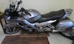 Make Yamaha Model Fjr Year 2004 kms 92000 Very nice shape fjr1300 with abs brakes, electric windshield, new rear tire and battery, factory saddle bags, good shape front tire. Great riding bike and lots of power. There are no leaks and everything works