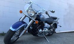 Make Yamaha Model V-Star Year 2004 kms 43150 Tuff City Powersports Ltd. Item# 151 Terminal Ave Nanaimo, BC V9R 5C6 (250) 591-0415 9am - 5pm Tuesday -Friday 10am - 5pm Saturday Did you know that we buy bikes? We are always looking for clean used