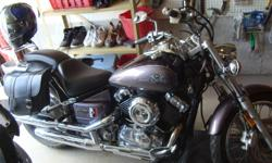 2004 Yamaha V-Star Custom 650 in great condition Km 19222 Comes with saddle bags and passager back rest Asking $3100 or best offer Sold as is Please contact by email at barrancogl@hotmail.com