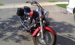 nice and clean bike, no dent at all, never drop, because i have convertible camaro also so i use some time my camaro and some time i use my bike. mint condition , just change oil and drive in the summer. pretty balance bike. i bought the windshield from