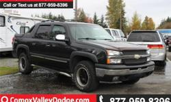 Make Chevrolet Model Avalanche 1500 Year 2005 Colour grey kms 286733 Trans Automatic Vehicle was driven until the day it was traded in, but due to the age, kilometers and market on this vehicle, we've elected to not spend any money reconditioning it and