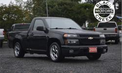 Make Chevrolet Model Colorado Year 2005 kms 201000 Trans Automatic Price: $5,999 Stock Number: 1528 VIN: 1GCCS146858116695 Engine: I-5 cyl These Colorado's are great mid sized pickups, with the 3.5L 5 cylinder engines making 220hp they are fairly