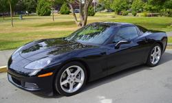 Make Chevrolet Model Corvette Year 2005 Colour Black kms 38850 Trans Manual 2005 Chevrolet Corvette Targa * Low mileage * 6.0L V8 * Rear Wheel Drive The 2005 Corvette was highly anticipated when it came on the market; it had big boots to fill after the