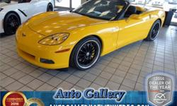 Make Chevrolet Model Corvette Year 2005 Colour Yellow kms 40800 Trans Manual Price: $50,993 Stock Number: 21279 Interior Colour: Black Engine: 6.0 L Fuel: Gasoline Supercharged! Iconic sports car with low kilometers at a low price! Comes with leather