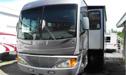 Price: $59,988 Stock Number: I2032 Fuel: Gasoline 2005 Fleedtwood Pace Arrow 37C with 3 slides. Workhorse 8.1 L Vortec V8, 340 hp with Allison 6 speed electronic overdrive transmission, hydraulic leveling system, Ultra leather seating with 6-way power