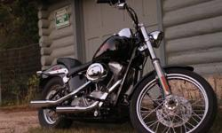 '05 Harley Davidson FXST Softail Standard - 88 ci - 5 Spd - black with lots of chrome extras - Screamin' Eagle 2 pipes (SE2) - 20,000 miles - fresh synthetic oil change, air filter, safetied May2011 from HD dealer - mint condition, meticulously