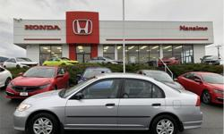 Make Honda Model Civic Year 2005 Colour Silver kms 112784 Price: $6,250 Stock Number: H16621B VIN: 2HGES16365H048503