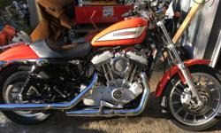 Make Harley Davidson Model Roadster Year 2005 kms 40000 Video of bike here...... https://vimeo.com/278959919 2005 harley sportster 1200 condition: excellent engine displacement (CC): 1200 fuel: gas odometer: 40000 paint color: orange title status: clean