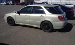 Make Subaru Model WRX Year 2005 Colour tan kms 170000 Trans Automatic 2005 Subaru WRX/ Saab 9-2X aero Its Saabaru, Subaru built the WRX version for Saab called the 9-2X Aero, only thing Saab about it is the Badges. Upscale WRX version. They even used the