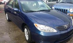2005 Toyota Camry | $5,995 Automatic transmission, 220,000km, cloth interior , abs brakes , alloy wheels , BC vehicle , power group including -power windows -power door locks , -keyless entry, $5,995 + Doc + Taxes Call us with any questions at: 850