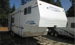 Price: $14,900 very well maintained mid sized fifth wheel , one slide out , front queen bed , rear kitchen