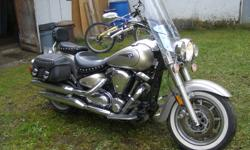 2005 Yamaha 1725cc Roadstar. Mint condition, 14,000 kms. Asking $9500. Call 250-804-3745.