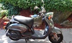 Scooter in great shape. Excellent commuter. Goes up to 95km/hr. Cheap on gas and insurance/licence. 18000km. Fresh oil changed done. Price is firm. Located on Rockland ave. Vespa,Honda