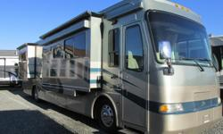 Whether your adventures take you to the mountains or beaches this is a truly luxury coach and well appointed with options. You will find a measurable set of expectations...... QUAD SLIDES! Sleeps 4 with King bed and sofa bed. Standard features include a