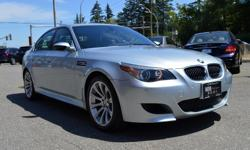 Make BMW Model M5 Year 2006 Colour Silver kms 50468 Trans Automatic *NEW YEAR SALE* - $3,000 OFF - WOW! What a Stunning 2006 BMW M5 - Hard to Find / Only 50,000 Km's / Canadian Vehicle / Brand New Tires / Zero Accidents / Drives as New! Options include: