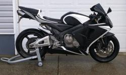 CBR 600RR needs new home. New chain and sprockets, tires and spark plugs. Oil, antifreeze and brake fluids changed. 39,879 kms