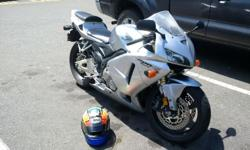 2006 CBR 600RR, great condition, low kms (13500). Rides and runs mint. Optional riding gear for $300 extra.
