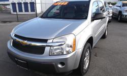 Make Chevrolet Model Equinox Year 2006 Colour SILVER kms 123000 Trans Automatic 2006 CHEVROLET EQUINOX AWD FOR SALE.... JUST ARRIVED... ONE OWNER ALL WHEEL DRIVE MODEL.....NO ACCIDENTS.....LOW KILOMETRES....VERY CLEAN ....GOOD MECHANICAL