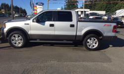 Make Ford Model F-150 Year 2006 Colour Silver Trans Automatic 2006 Ford F-150 Crew cab, FX 4 off road package, automatic, sunroof, leather seats, tow package, movable pedals, tonneau cover, sliding rear window, 288,000km,4X4, BC Vehicle, no major