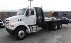 Make Sterling Year 2006 Colour White Trans Manual kms 201833 Stock #: BC0029964 VIN: 2FZHATDC76AX22541 2006 Sterling LT7500 Manual 16 Foot Flat Deck Air Brakes, Diesel, 7.2L L6 DIESEL engine, Air brakes, 18 foot wheel base, 16 foot flat deck, plus the