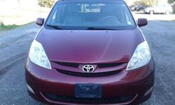 Make Toyota Model Sienna Year 2006 Colour Red kms 218000 Trans Automatic 2006 Toyota Sienna - Don't overlook it This Toyota Sienna is a Very good condition Vehicle... Lucky buyer who ever buy this vehicle Runs well and a great family vehicle. Leather