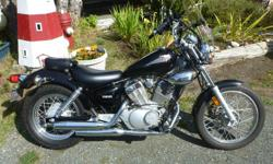 2006 Yamaha Virago 250cc, Must see, as new , only 827 miles. includes cover.