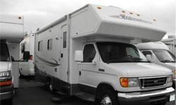 Price: $41,988 Stock Number: I2212 Fuel: Gasoline These 22' Class C Motor Homes with a set up rear bed are great for Island hopping. This one is in great condition and includes awning, air conditioning, stereo and microwave. We have competitive financing