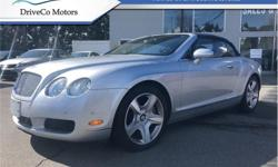 Make Bentley Model Continental GT Year 2007 Colour Silver kms 79562 Trans Automatic Price: $75,000 Stock Number: A9043 VIN: SCBDR33W27C049043 Interior Colour: Blue Engine: 552HP 6.0L 12 Cylinder Engine Fuel: Gasoline VERY CLEAN, WE FINANCE AND LEASE