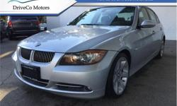 Make BMW Model 3 Series Year 2007 Colour Silver kms 107002 Trans Automatic Price: $10,995 Stock Number: BJ1856 VIN: WBAVB73567KY61856 Engine: 300HP 3.0L Straight 6 Cylinder Engine Fuel: Gasoline # 1 NEW CREDIT AND BAD CREDIT DEALER IN BC. WE SHIP BC WIDE.
