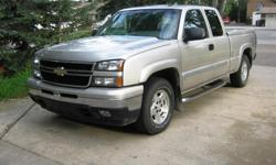 Make Chevrolet Model Silverado 1500 Year 2007 Colour silver kms 285000 Trans Automatic 2007 Chevrolet Classic Silverado 1500 Pickup. Extented cab. Z-71 4x4 option. 5.3 motor, 4-speed auto trans. Birchwood silver in color. Gray interior. One owner. Very