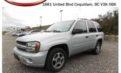 Trans Automatic This 2007 Chevrolet Trailblazer has many features like alloy wheels, fog lights, roof rack, tinted rear windows, power locks/windows/mirrors, CD player, AM/FM Radio, rear climate control and tons more! STK # 36023A DEALER #30526 Mission