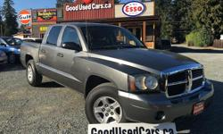 Make Dodge Model Dakota Year 2007 Colour Grey kms 182000 Trans Automatic This 2007 Dodge Dakota is a recent trade-in here at Good Used Cars. It received a full tune up at a local shop that includes transmission service, exhaust manifold, wheel hub,