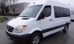 Make Dodge Year 2007 Colour White Trans Automatic kms 75816 Stock #: BC0030689 VIN: WD8PE745275148621 2007 Dodge Sprinter High roof Wagon 2500 144-in. WB, Wheel Char Van 3.0L V6 DOHC 24V TURBO DIESEL engine, roof air conditioning, automatic, RWD, 4-Wheel